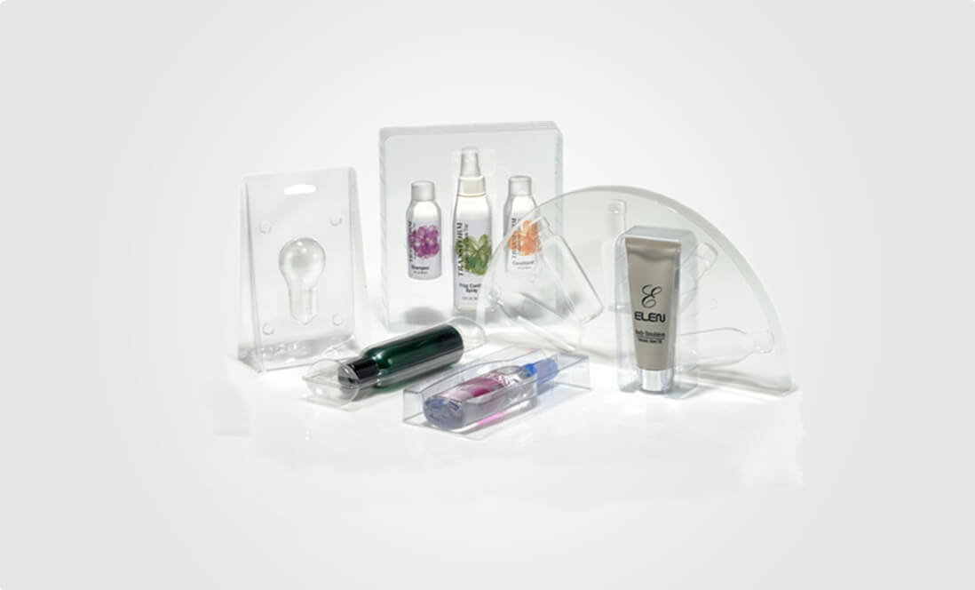 cosmetic clamshell packaging
