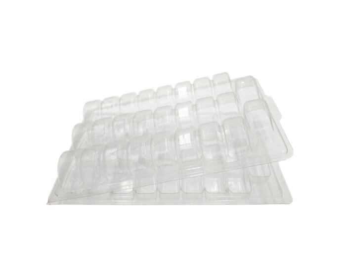 clamshell trays