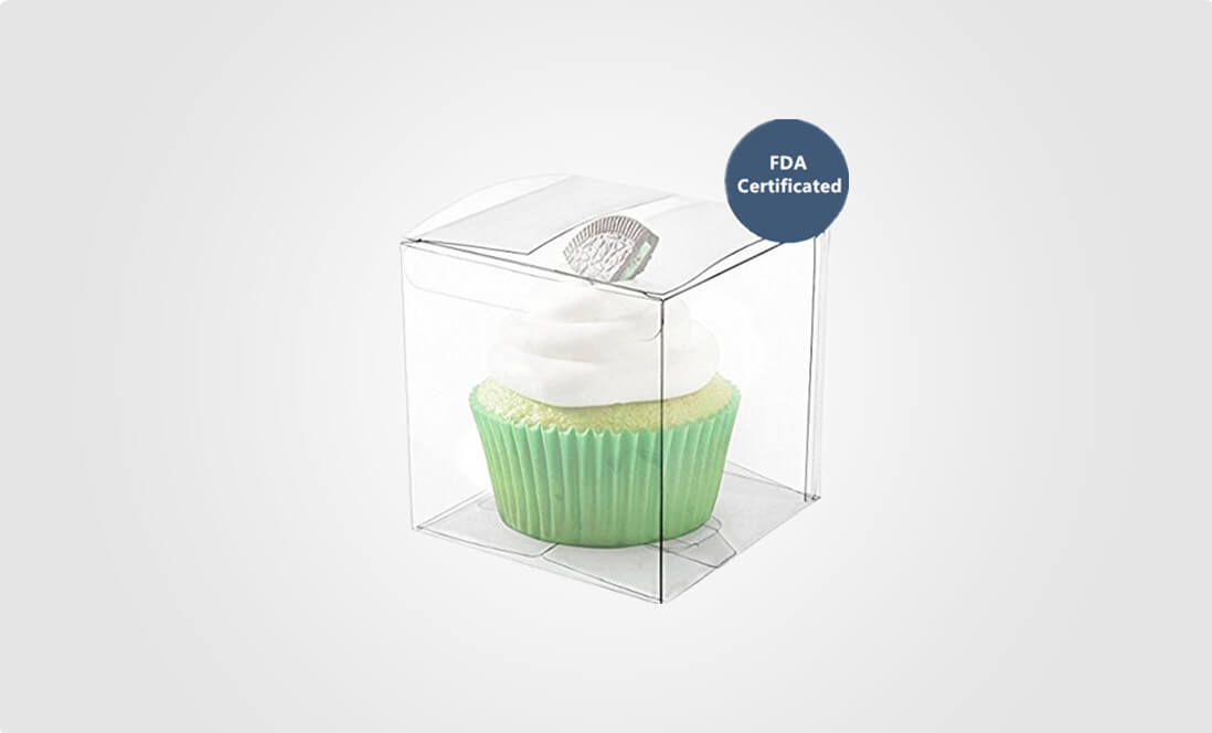 PET Plastic Box for cake