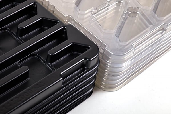 stackable dunnage trays