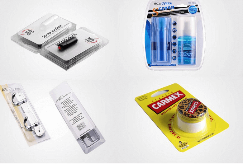 types of blister packaging