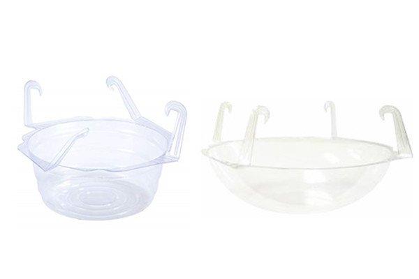 hanging basket drip pan