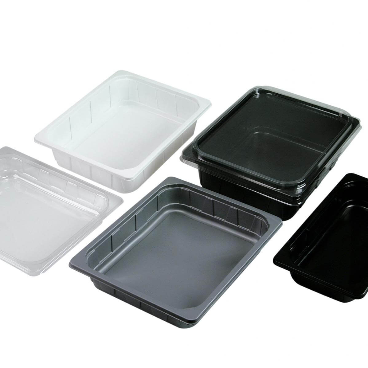plastic seafood tray-2