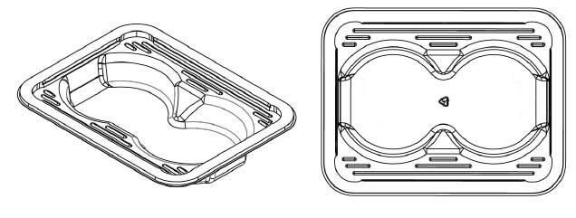 plastic seafood tray-3