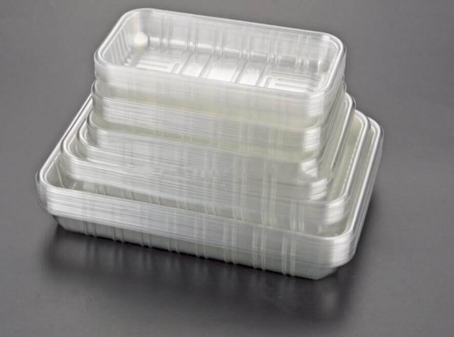 plastic seafood tray