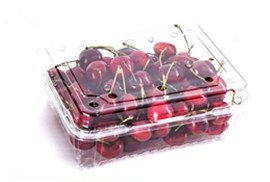 cherry clamshell packaging