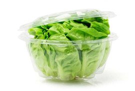 lettuce clamshell packaging