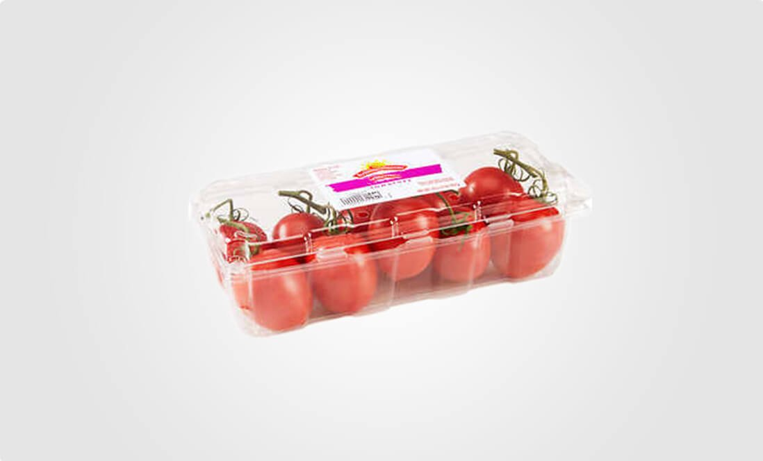 produce clamshell packaging-tomato
