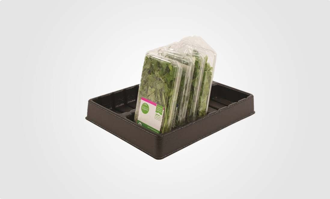 clear produce clamshell packaging