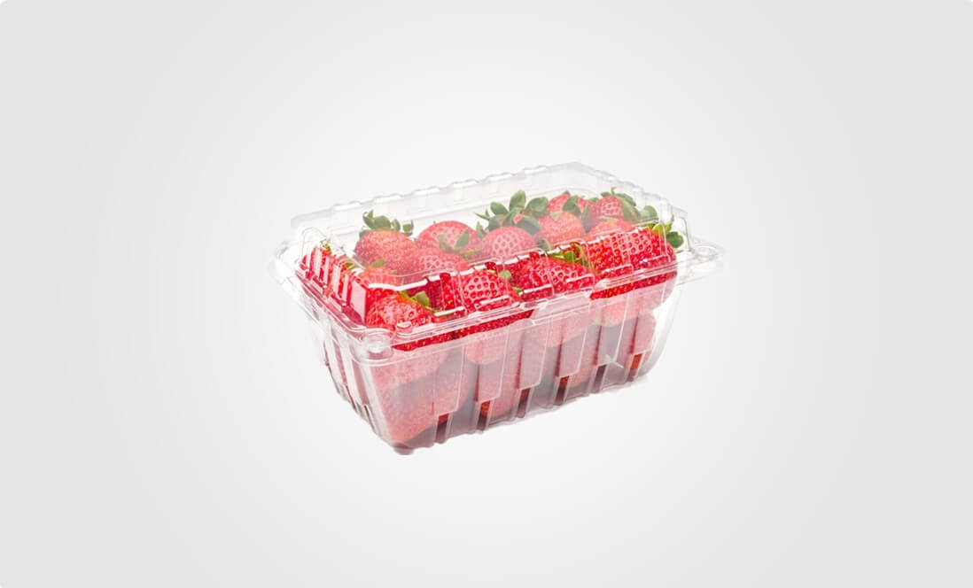 vented produce clamshell packaging