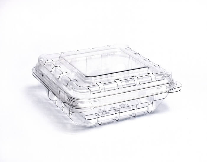vented produce clamshell container packaging