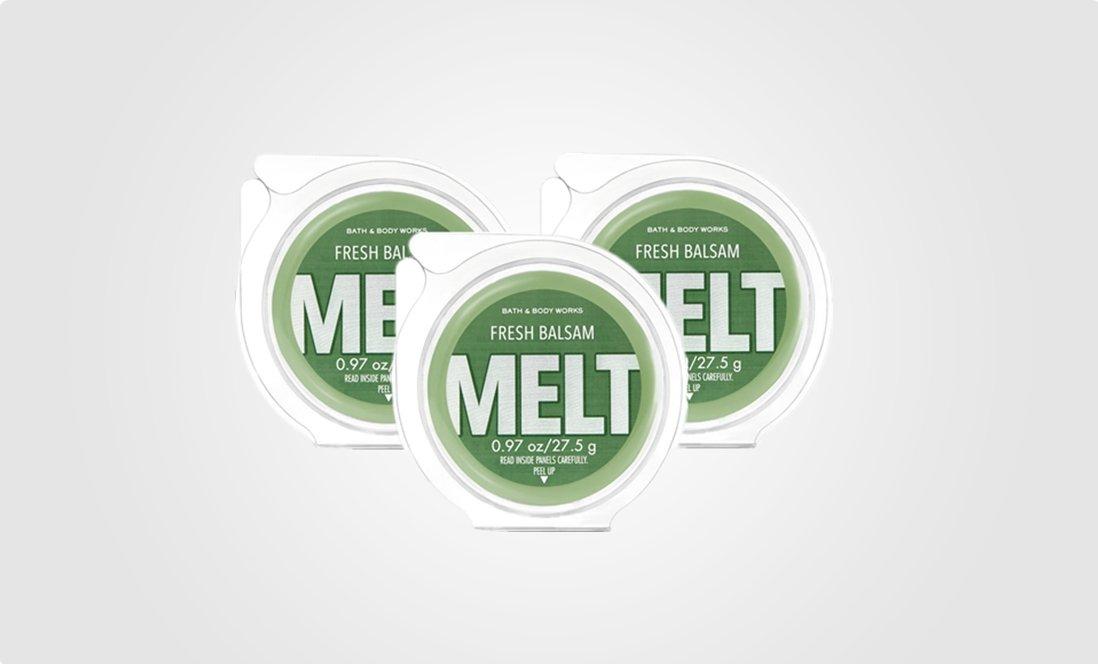 3-wax melt clamshell